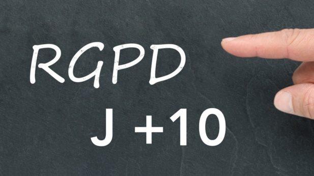 RGPD mise en conformité J+10